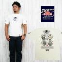 수광반소매 T셔츠 발염 프린트 SYT-126