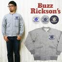 バズリクソンズ Buzz Rickson 's 전체 지퍼 크루 넥 스웨터 트레이너 「 U.S.ARMY AIR FORCE 」 BR65601