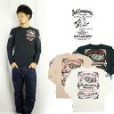 테드만 드 맨 즈 TEDMAN 'S 발 염 프린트 긴 소매 티셔츠 『 TED COMPANY MOTORS 』