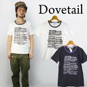 도브 테일 DOVETAIL 트리밍 티셔츠