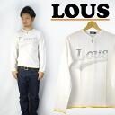 LOUS 로우 키 넥 T 셔츠