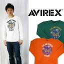 AVIREX アビレックス アヴィレックス 빈티지에 어 포스 긴 팔 티셔츠