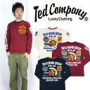 텟드만텟드만즈 TEDMAN'S발염 프린트 긴소매 T셔츠 「8 TH AIR FORCE」