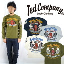 테드만 드 맨 즈 TEDMAN 'S 발 염 프린트 긴 소매 티셔츠 「 LUCKY CLOTHING 」