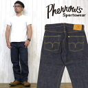 Fellows Pherrow's jeans straight jeans jeans denim スターチドウォッシュ one wash