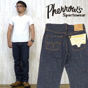 Fellows Pherrow's jeans tight-fitting pair of jeans jeans denim スターチドウォッシュ one wash