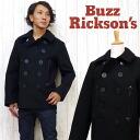 바즈리크손즈 Buzz Rickson's피코트 WOOL MELTON BLACK 36 oz윌리엄 깁슨 시리즈 BR12394