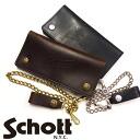 """쇼트 Schott 롱 지갑 지갑 가죽 메탈 체인 """"Perfect Wallet"""" 미국 호 윈 사제 3109057"""
