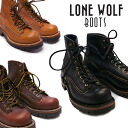 "Review coupon for merchandise LONEWOLF BOOTS ロンウルフ boots ワークブーツビブラムソール VIBRAM SOLE ""LOGGER"""