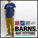 번즈 BARNS 프린트 천 티셔츠 「 UNITED STATES 」