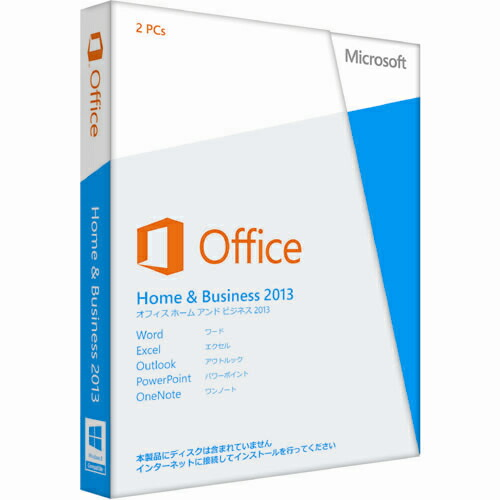 �ޥ����?�ե� Office Home and Business 2013 �̾��� 32/64bit ���ܸ� ��ǥ����쥹
