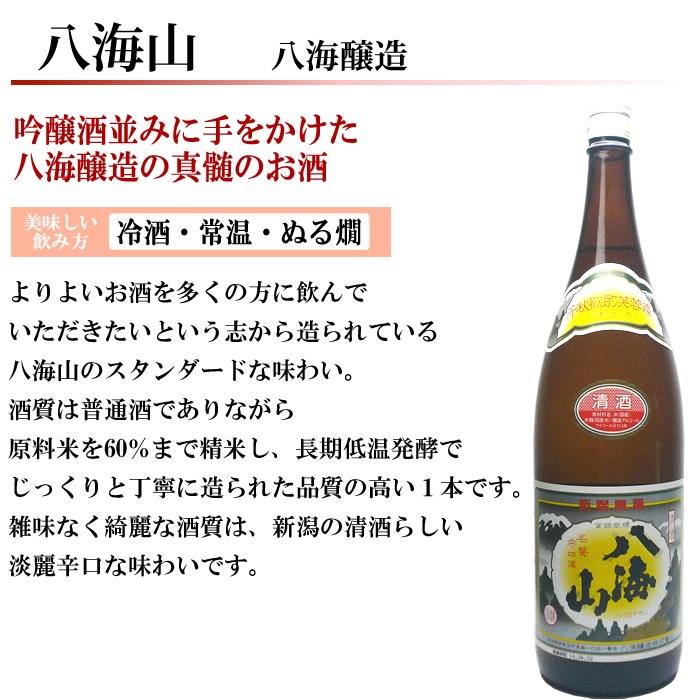 日本酒 第38弾 八海山普通酒