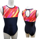 Made in Japan ノースリーブレオタード * NEW! Passion zone under children's Leotard kids junior sleeveless sleeveless オペコット gloss rhythmic gymnastics practice competitions for
