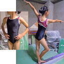 Design no sleeve leotards * SYAYA140/150cm [competition use for exercises for child service leotards kids Jr. no sleeve padded vest operation cot luster rhythmic gymnastics exercises] made in Japan