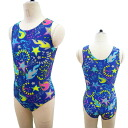 Sleeveless leotards * true Cal world medium size [exercise use for woman cloth with patterns leotards luster rhythmic gymnastics exercises] made in Japan 7200