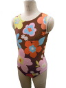 Made in Japan now sleeve Leotard * happyflower 140 cm [children's Leotard kids junior sleeveless open cot gloss rhythmic gymnastics practice for 6700