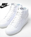 NIKE WMNS DUNK SKY HI WHITE nike women dunk sky high white Lady's sneakers shoes