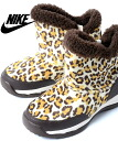 NIKE CHUKKA MOC 2 PS NATURAL/BROWN Nike chukka MOC 2 PS Leopard pattern Leopard