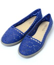 REEF FISH INDIGO leaf fish indigo blue shoes sandals Lady's