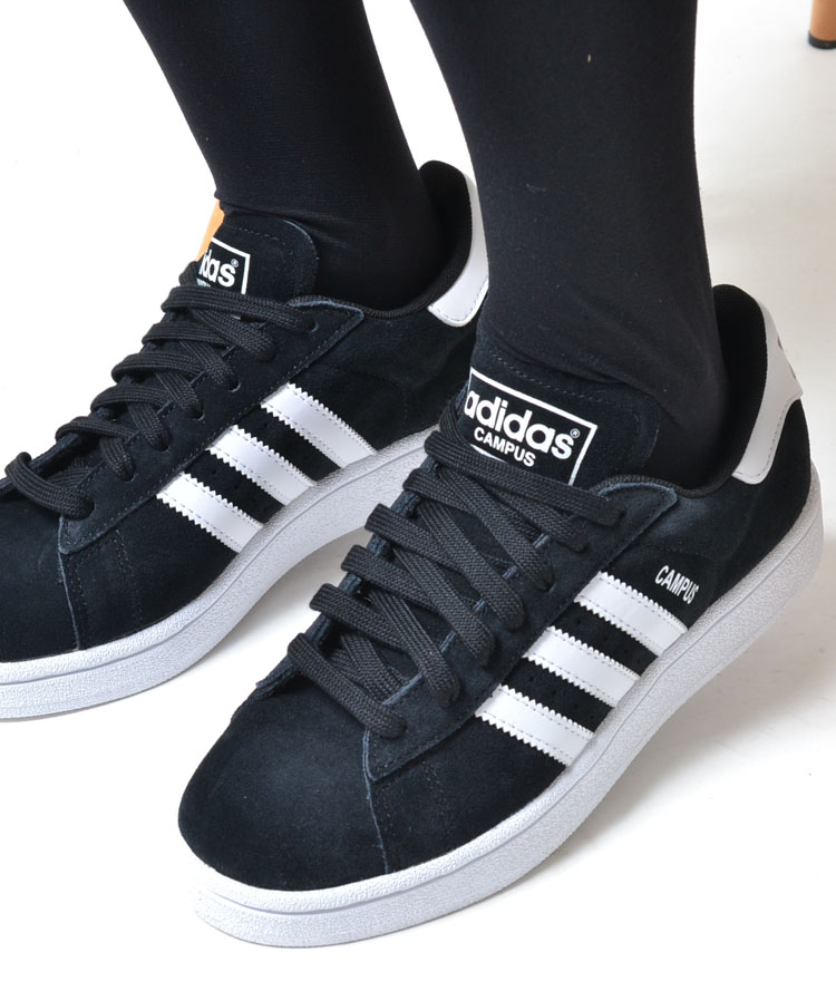 Adidas Black Campus Shoes Womens