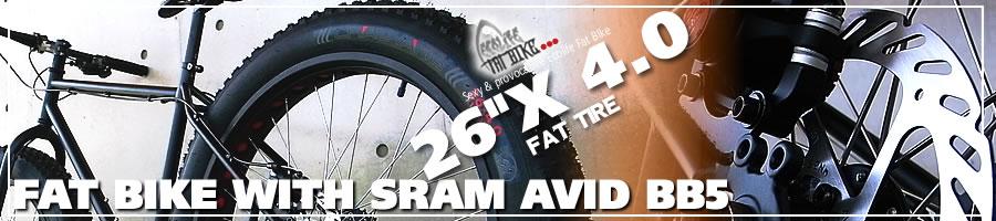 ファットバイク ビーチクルーザー 自転車 26インチ FAT BIKE ファットタイヤ クロモリ