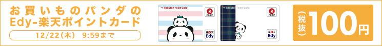 お買いものパンダ Edy-楽天ポイントカード 100円(税抜)