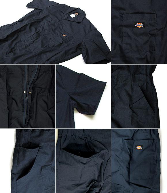 Dickies ディッキーズ 33999 カバーオール 半袖つなぎ / ツナギ
