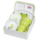 산중 칠기 아이 식기초반례 셋트하그미카엘(전자 렌지 대응, 설겆이기 대응, 런치 트레이, 식기 세트, 식 있어 처음 세트) 001-2722 a