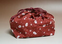 Lunch DrawString bag bean Usagi red Bento, lunch box, pouch 001-1503fs2gm