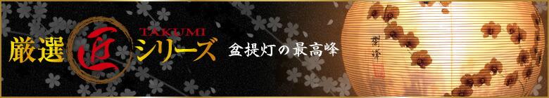 【厳選盆提灯】匠シリーズ/ちょうちん