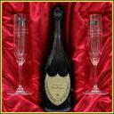 Premium gift name into riedelshampangrass & Don Perignon (Dom Perignon) 2004 750ml gift 02P08Feb15