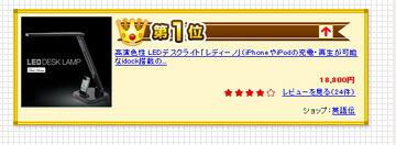高演色性 LEDデスクライト「レディーノ」