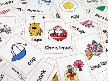 英語 英語絵カード 700 トランプ ... : トランプ 遊び方 子供 : 子供