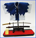 Figure of the Shinsengumi and happi and sword