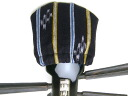Sky Cap splashed (black) stripes