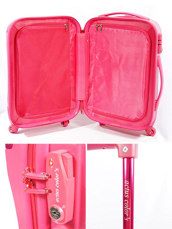 東京ガールズコレクションにも出品された、お洒落なスーツケースです。
