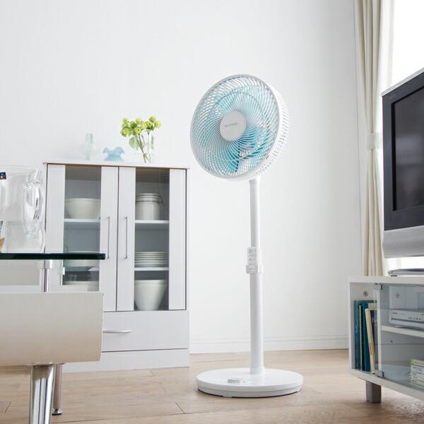 やさしさとパワフルさを兼ね備えた扇風機です。