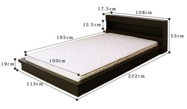 EMOOR Co Ltd Rakuten Global Market Regular Spring Mat With Shelving And M
