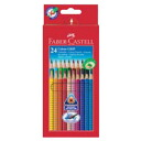★24 colors of 20%OFF/ bargain item ★ Ferber Castile color grip colored pencils (paper treasuring) 112424 (picture in watercolors colored pencil / red line / red Castile)