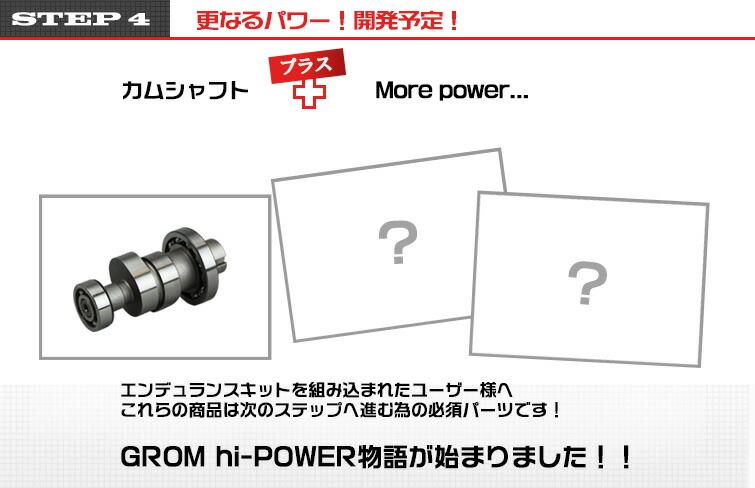 STEP4 更なるパワー!開発予定!