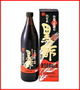 Healthy F pure rice black vinegar 900 ml [12 pieces] fs3gm