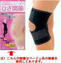 Burden reduction supporter knee joint (a color:) Black size: M - L) fs04gm