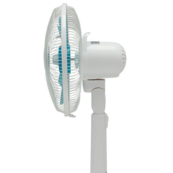 ムラの少ない涼しい風を送ります♪リモコン付リビング扇