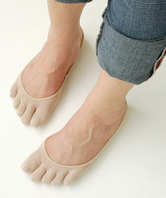 Five silk finger foot cover