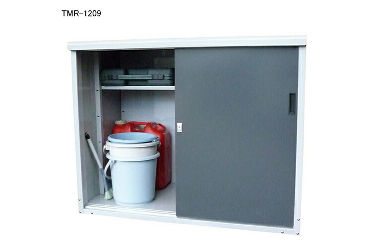 タカヤマ スチール製小型物置 TMR-1209