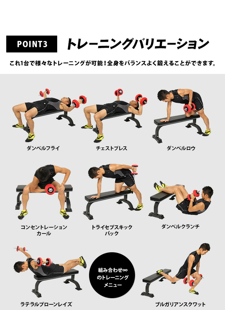 トレーニングバリエーション