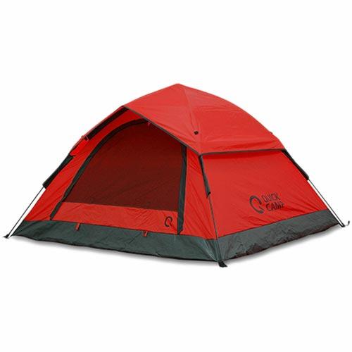 クイックキャンプ ワンタッチテント 3人用 210×190cm