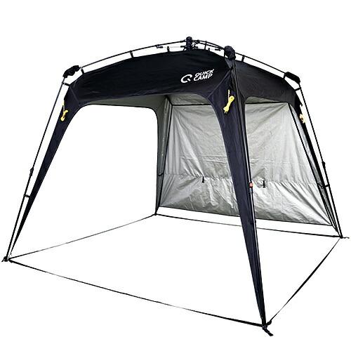 クイックキャンプ ワンタッチタープ 2.5m×2.5m