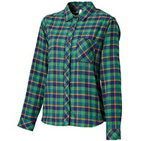 �ե��˥å��� Block Check Shirts GN