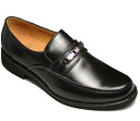 Bit loafer (4E) BE560 (black) water-repellent Bee men business, super light weight [easy ギフ _ packing]